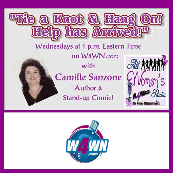 Tie a Knot & Hang On! Help has Arrived! On iHeartRadio