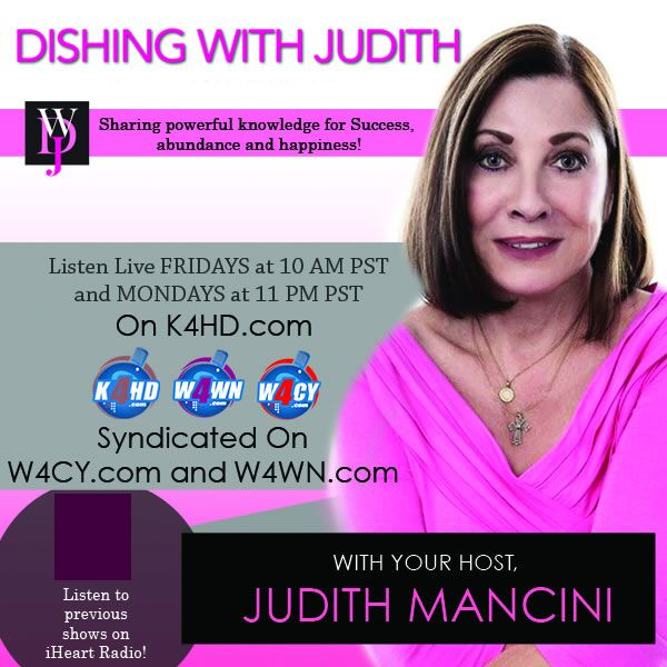 Dishing With Judith on iHeartRadio